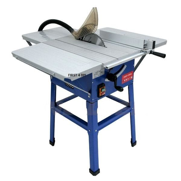 Table Saw Heavy Duty : Heavy duty quot w bench table cutting saw with blade
