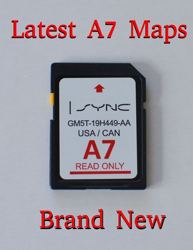 a7 2016 map update navigation sd card sync fits all ford. Black Bedroom Furniture Sets. Home Design Ideas