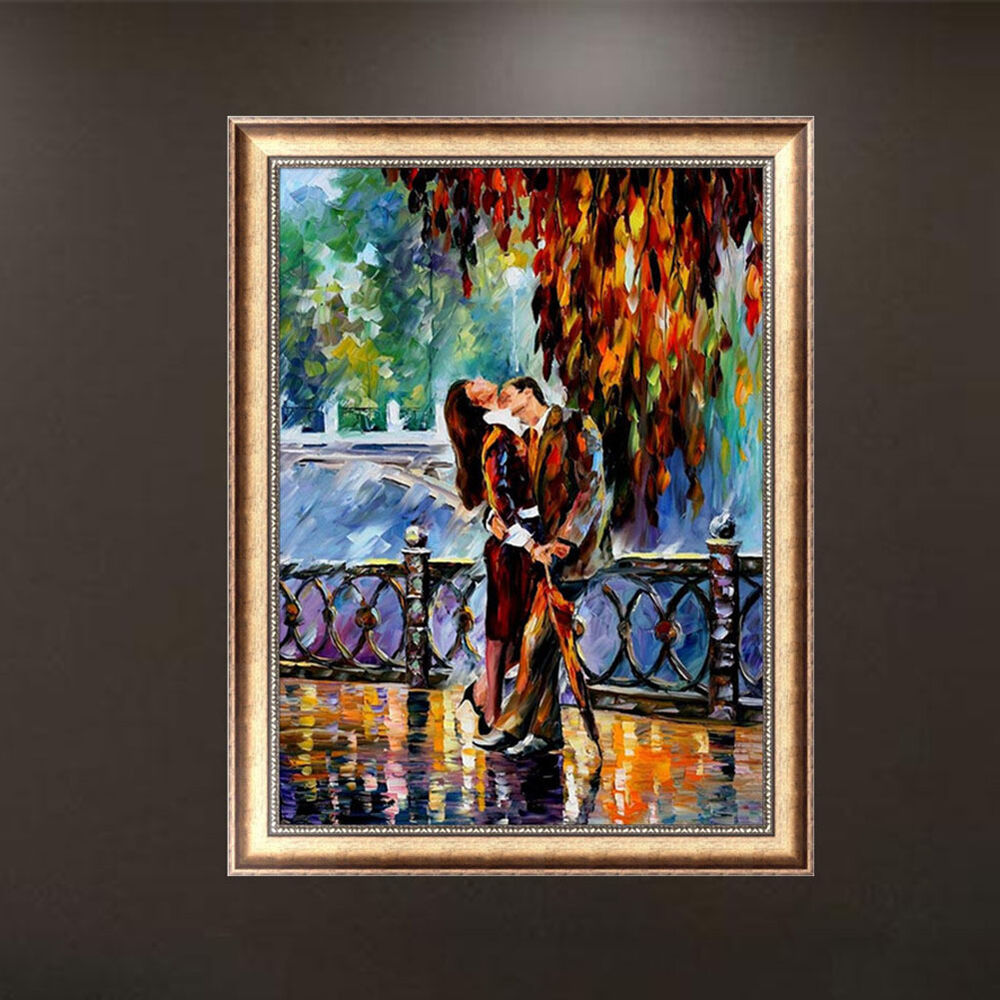 Diy 5d diamond embroidery lover oil painting cross stitch for Home decorations on ebay