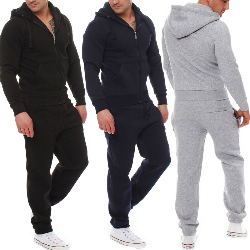 View all mens clothing Full tracksuits are great if you're taking part in team training, big events, or even just lounging around! We stock tracksuit sets, track tops, tracksuit bottoms, hooded tops and more. Our range of men's tracksuits offer up some of the most stylish and practical sportswear on the market from some of the biggest brands!