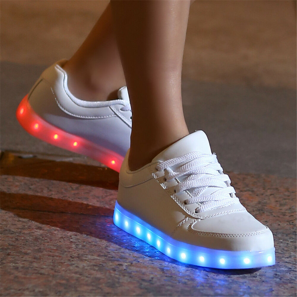 Led Shoes High Top Ebay