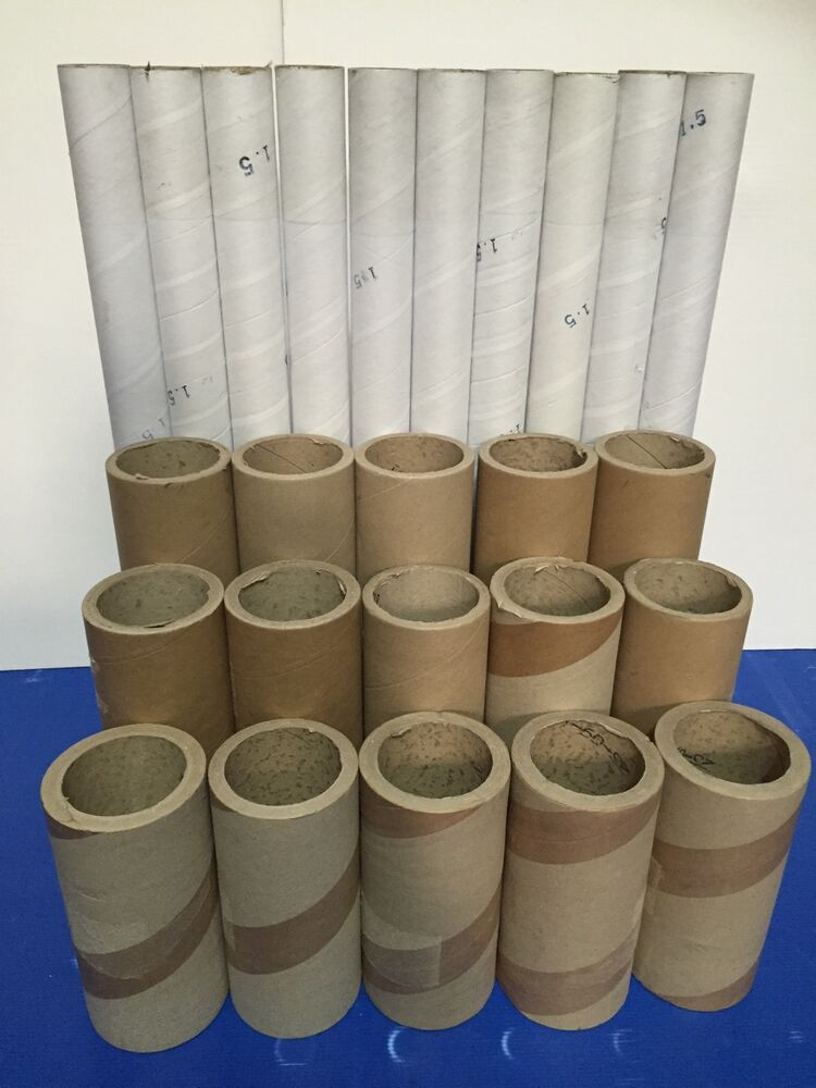 Heavy duty cardboard tubes x 25 shipping art craft etc ebay for Where to buy cardboard tubes for craft