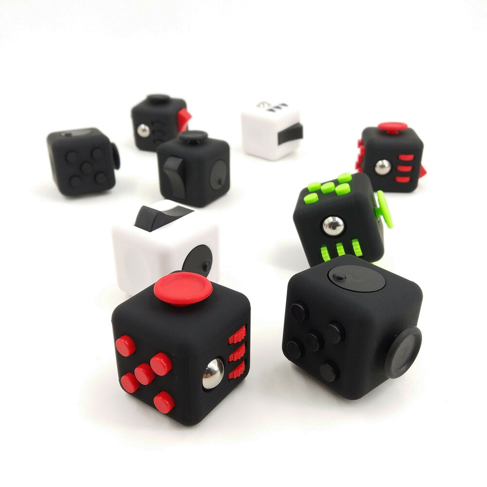 Stress Relief Toys : In stock colors fidget cube children desk toy adult