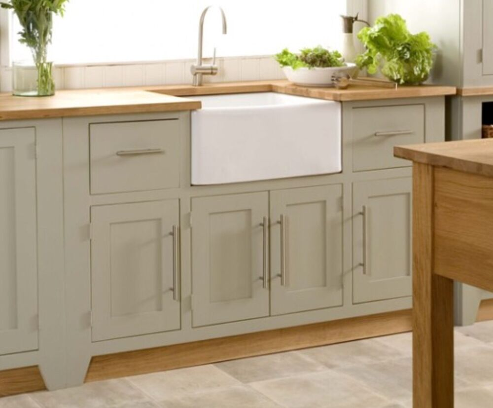 Ceramic Farmhouse Sink : ... Belfast Butler Sink - Ceramic White Farmhouse Kitchen ?174 eBay