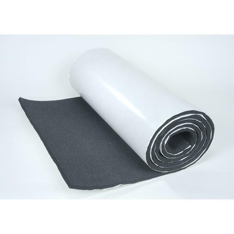 Thermal Acoustic Material : Hushmat thermal acoustic insulation silencer