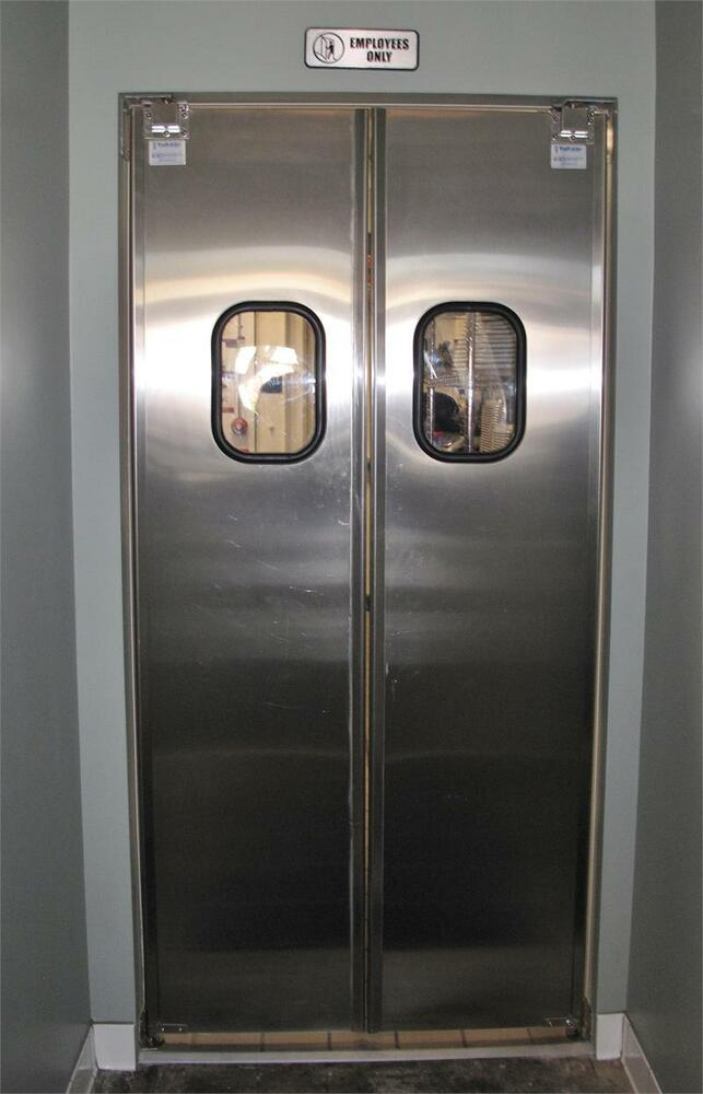 48 Quot X82 Quot Stainless Steel Door Restaurant Supermarket