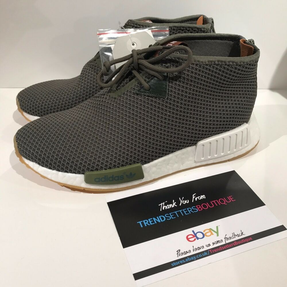 658cc8c7feba Details about ADIDAS CONSORTIUM X END NMD C1 CHUKKA US UK 5 6 7 7.5 8 8.5 9  KHAKI BB5993 GREEN
