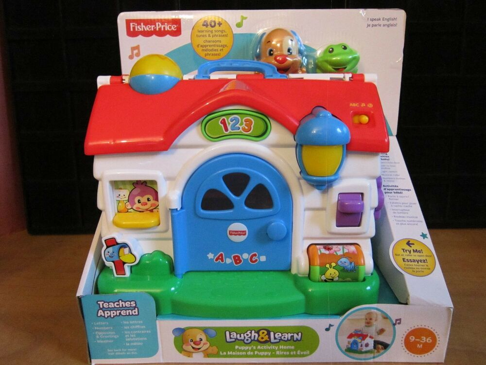 fisher price laugh and learn house manual