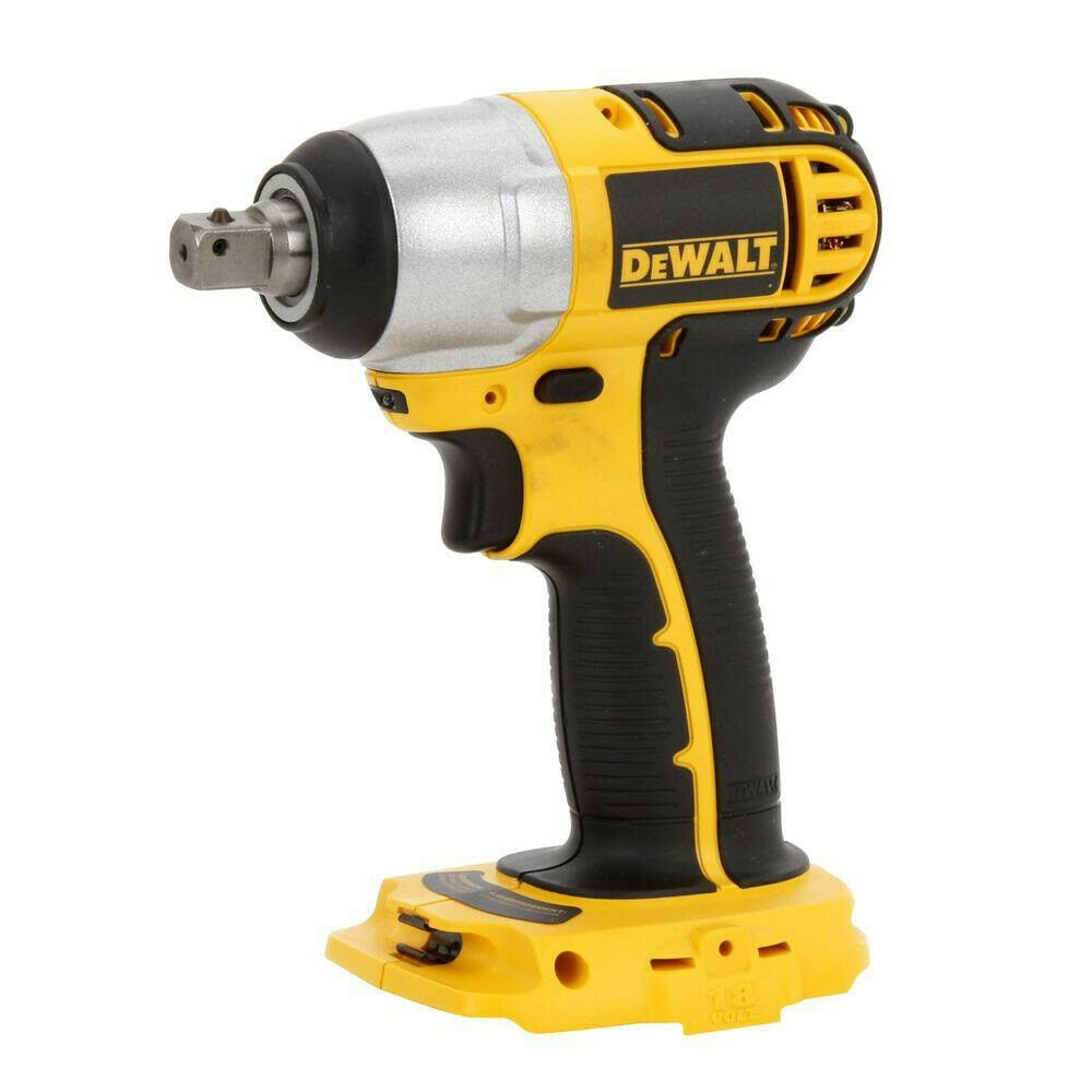 dewalt dc820b 18v cordless 1 2 in compact impact wrench bare tool new 885911186346 ebay. Black Bedroom Furniture Sets. Home Design Ideas