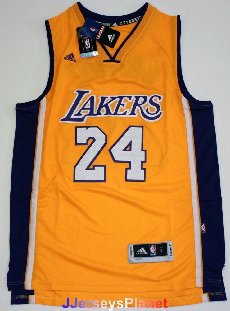 NWT Throwback Swingman Jersey KOBE BRYANT 24 Los Angeles ...