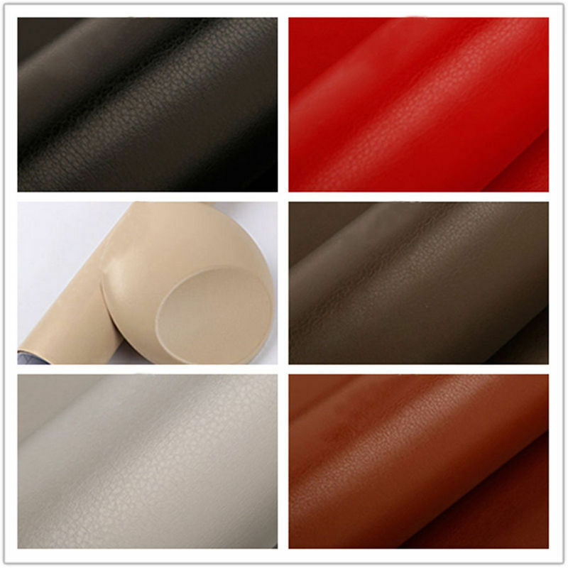 car interior striae fiber leather textured vinyl wrap sticker decal film newest ebay. Black Bedroom Furniture Sets. Home Design Ideas