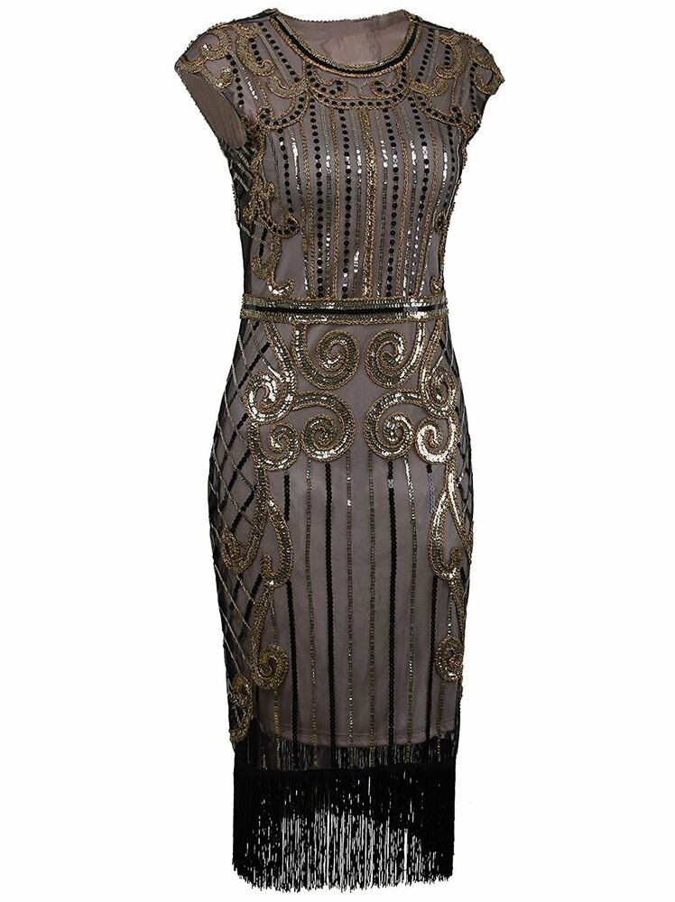 Sequin Flapper Dress | eBay