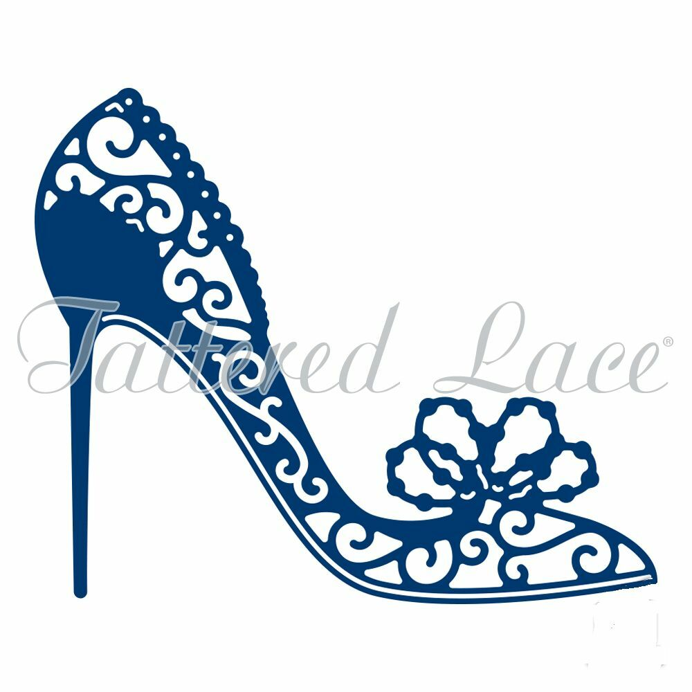 Tattered Lace Pearl Shoe D