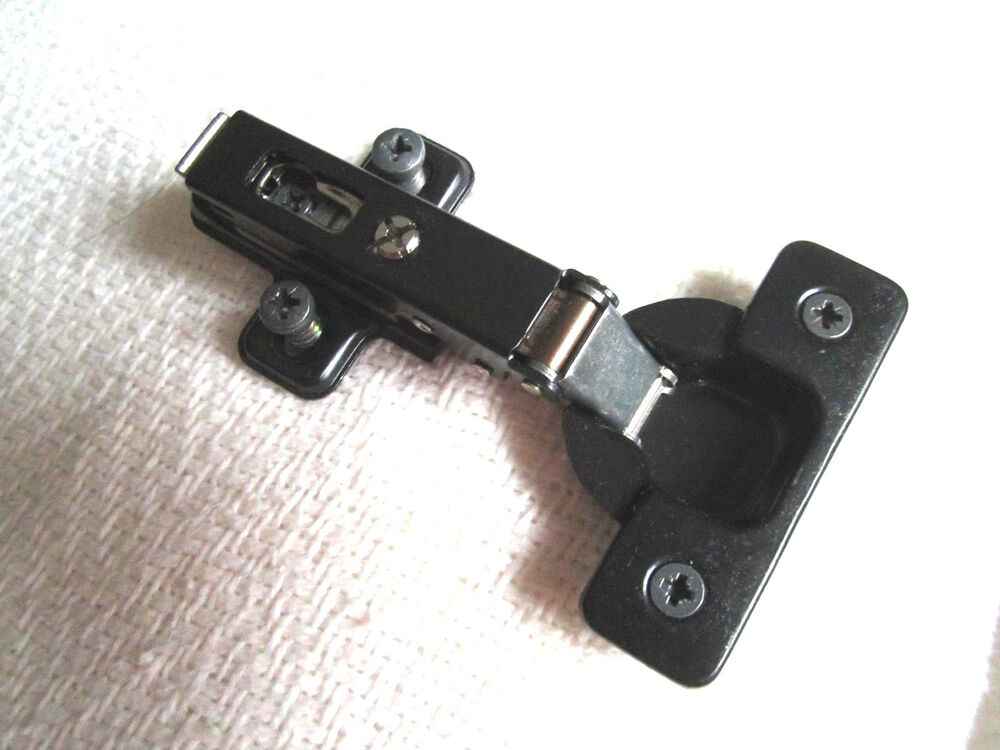 10 Salice Hinges 1 2 Quot Overlay Self Closing With Mounting