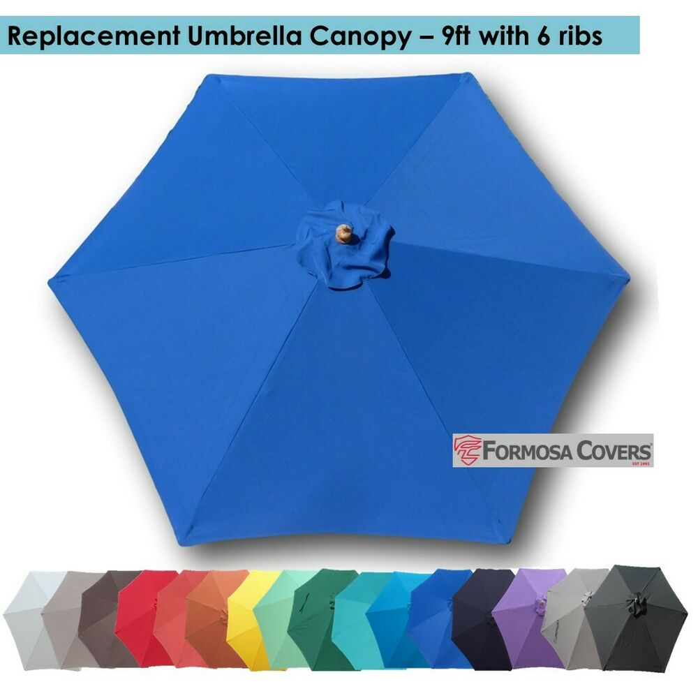 9ft Patio Outdoor Market Umbrella Replacement Canopy Cover
