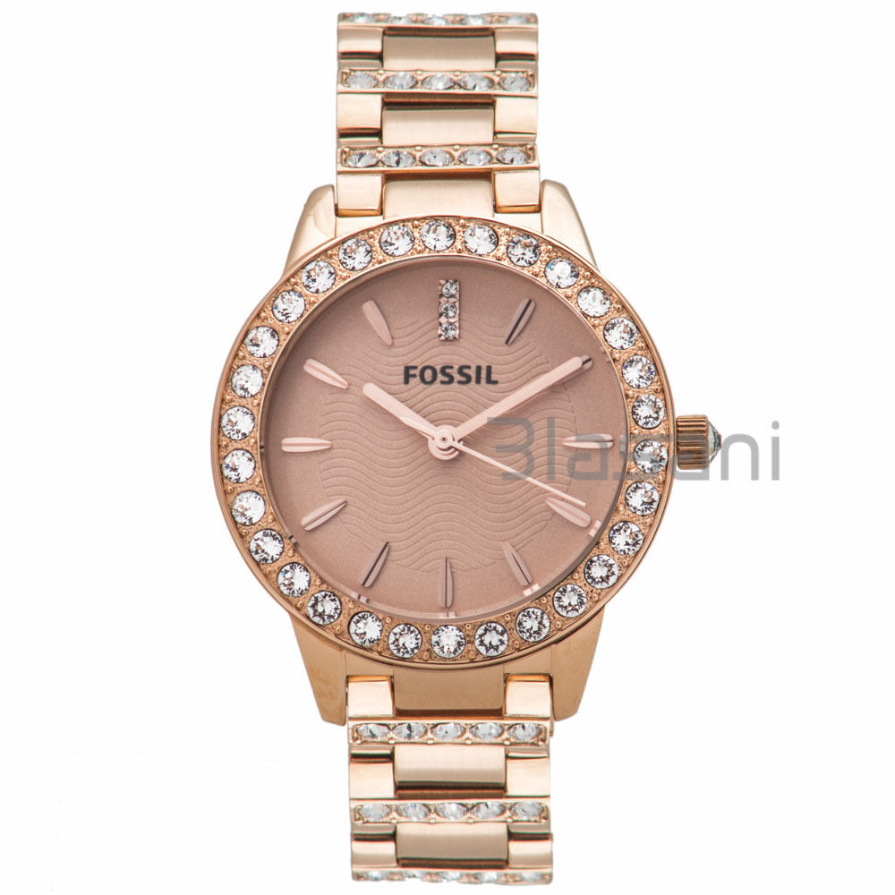 fossil original es3020 women 39 s jesse rose gold stainless steel watch 34mm 691464805432 ebay. Black Bedroom Furniture Sets. Home Design Ideas