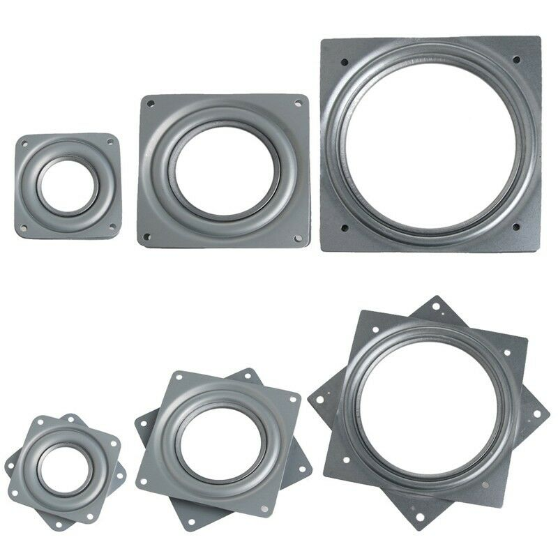 3 4 Square Bore Bearings : Pc square bearing swivel plate lazy susan turntable quot