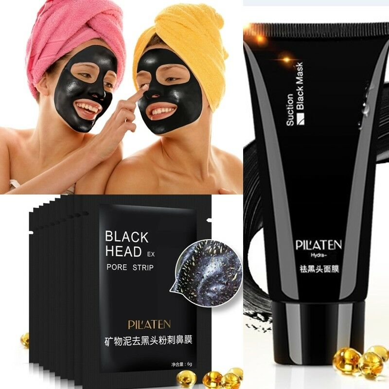 pilaten black head killer peel off schwarze maske gesichtsmaske pickel ebay. Black Bedroom Furniture Sets. Home Design Ideas