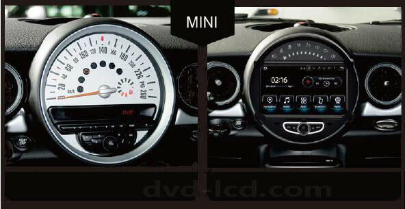 bmw mini cooper car dvd player autoradio gps navigation radio stereo wifi dab bt ebay. Black Bedroom Furniture Sets. Home Design Ideas