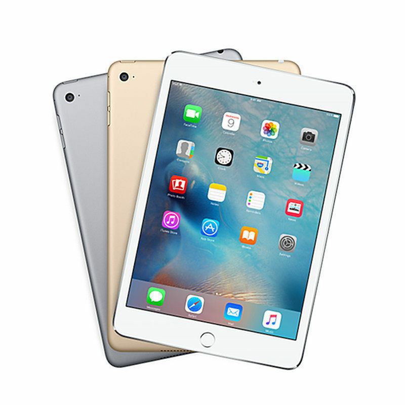 apple ipad mini 4 wifi 16gb 32gb 64gb brand new in box all. Black Bedroom Furniture Sets. Home Design Ideas