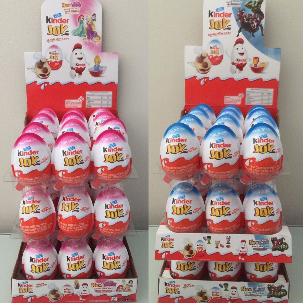 Jos And Toys : New kinder joy surprise eggs in toy chocolate for boys
