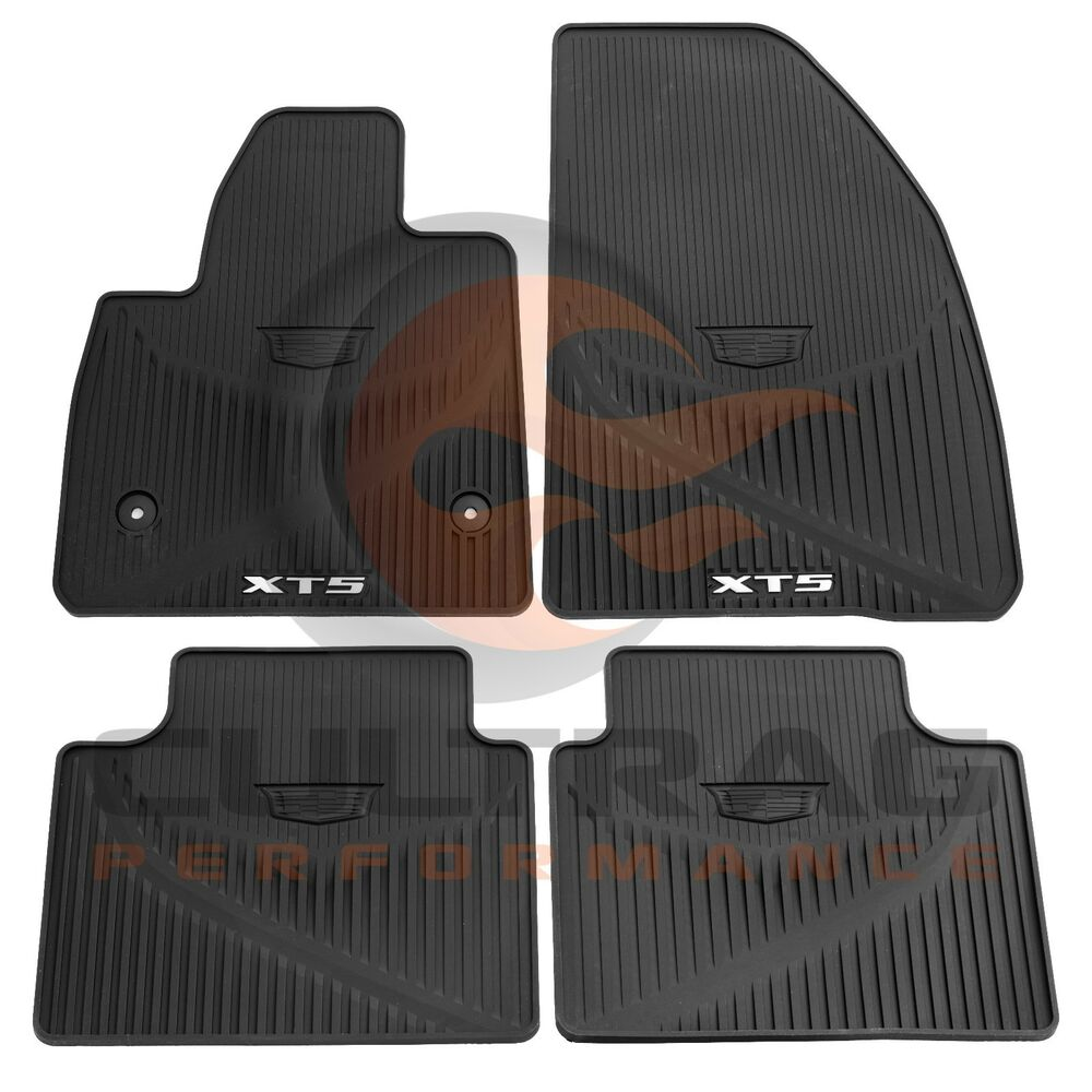 2017-2019 Cadillac XT5 GM Front & Rear All Weather Floor