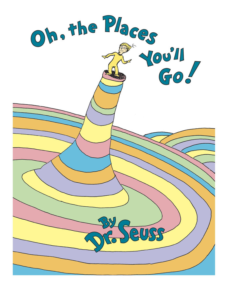 Oh, the Places You'll Go! by Dr. Seuss (1990, Hardcover ...