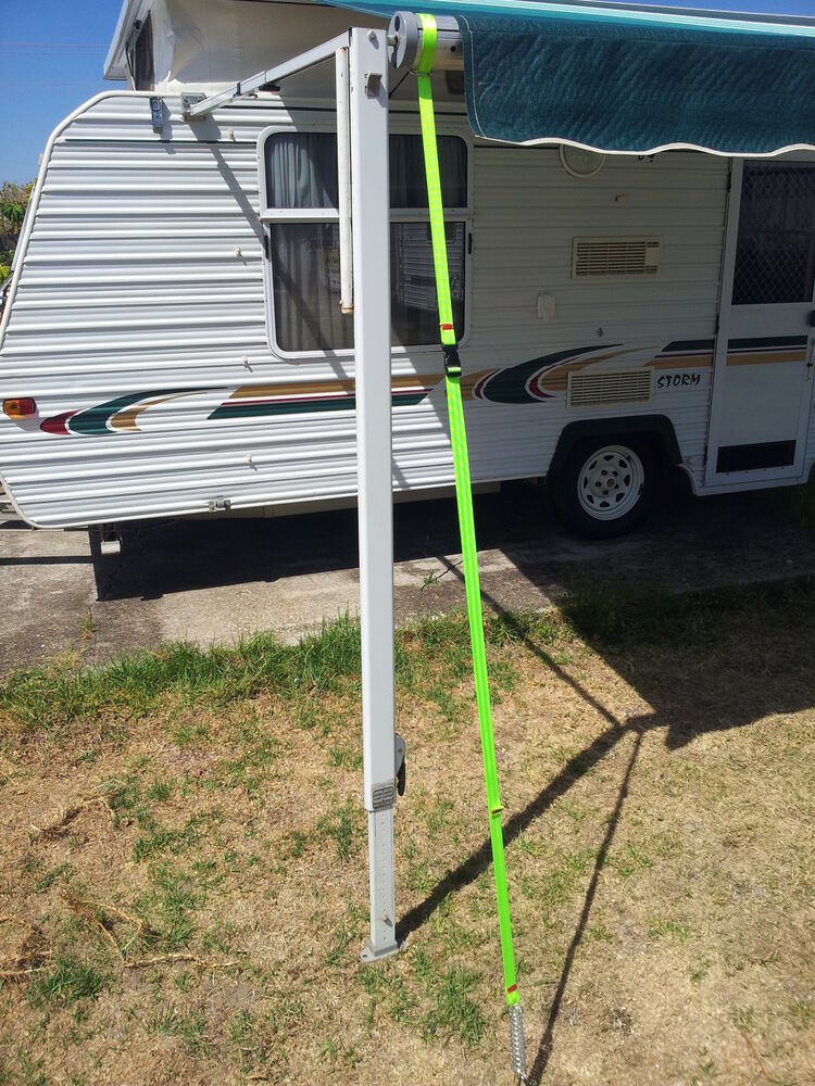Caravan Rollout Awning Tie Down Safety Straps Set Of 2