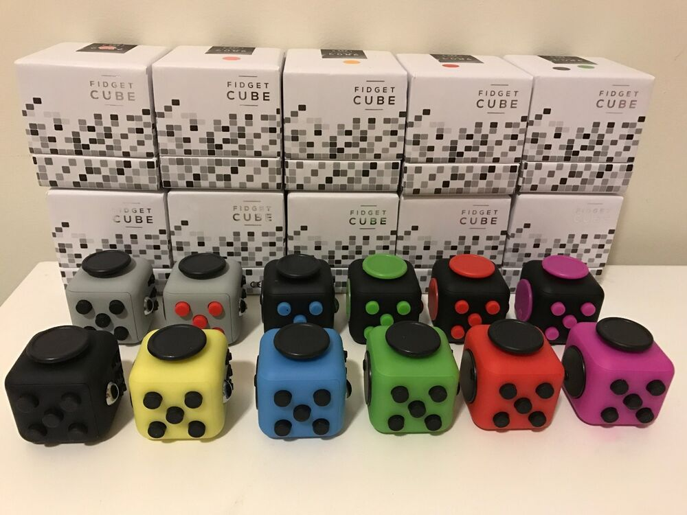 Toys To Relieve Stress Stress : High quality fidget cube anxiety stress relief better