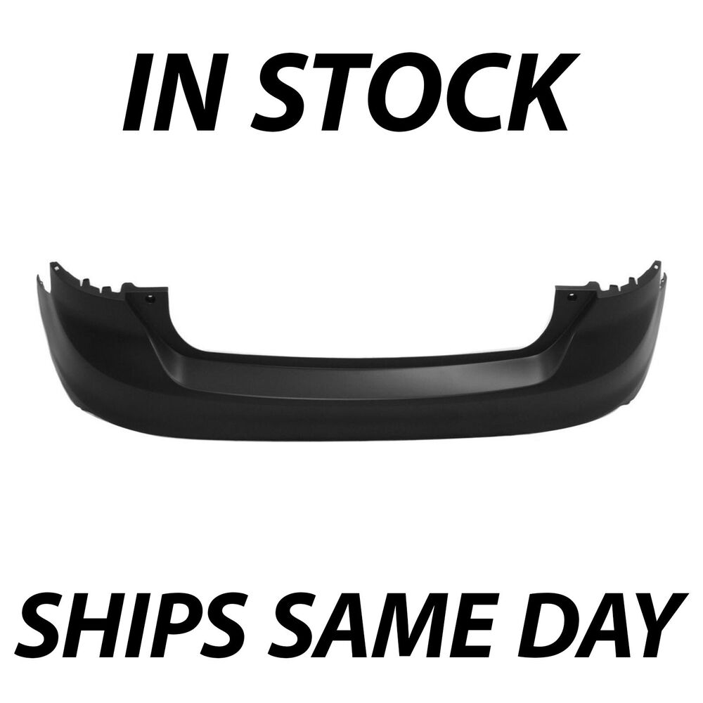 New primered rear bumper cover for 2012 2014 ford focus hatchback w o park ast ebay for 2012 ford focus exterior accessories