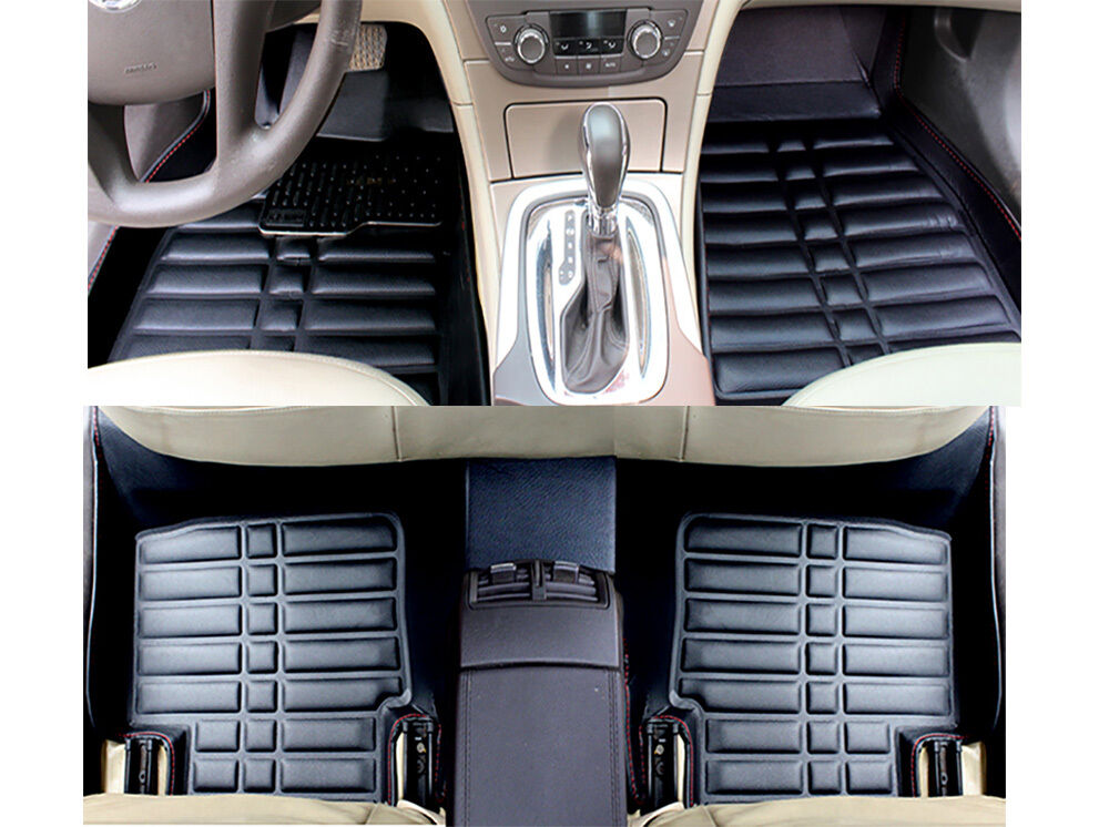 floor mats floorliner for nissan rogue 2014 2016 all weather liner mat fly5d ebay. Black Bedroom Furniture Sets. Home Design Ideas