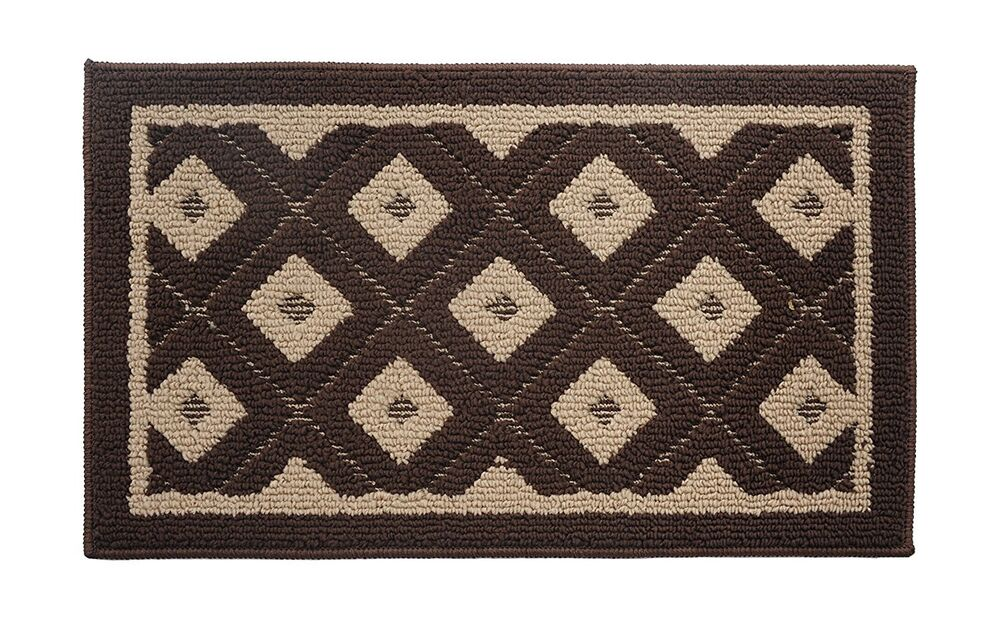 Soft And Durable Microfiber Bathroom Shower Accent Rug 32