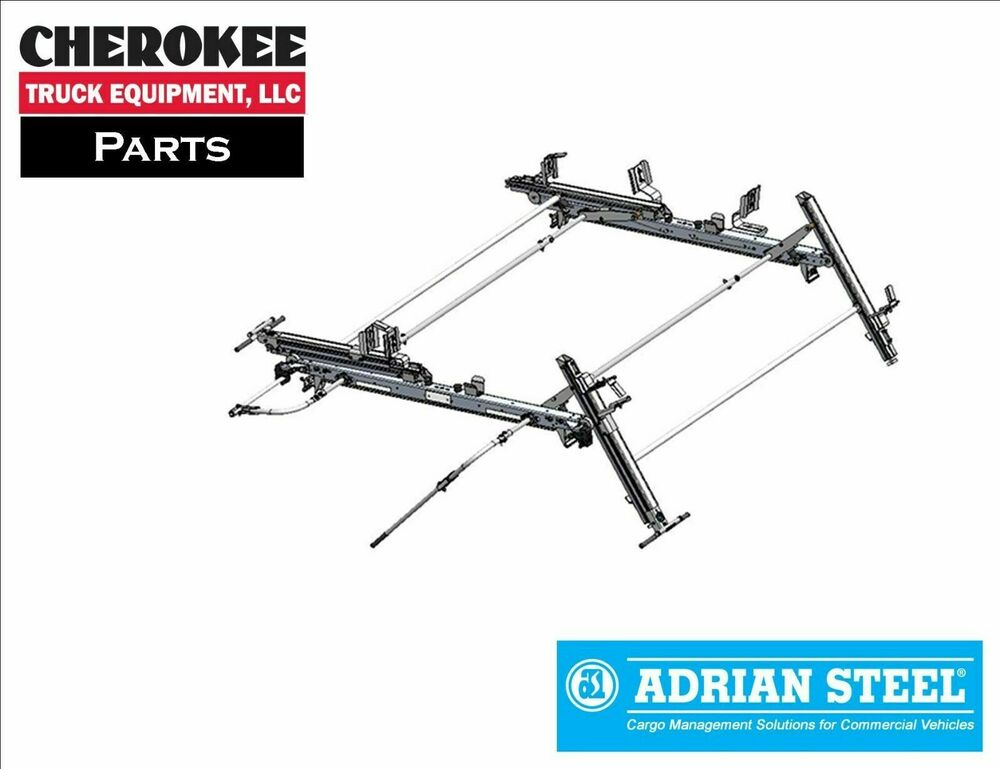 Adrian Steel Ddlr63gm Double Drop Down Ladder Rack For Gm