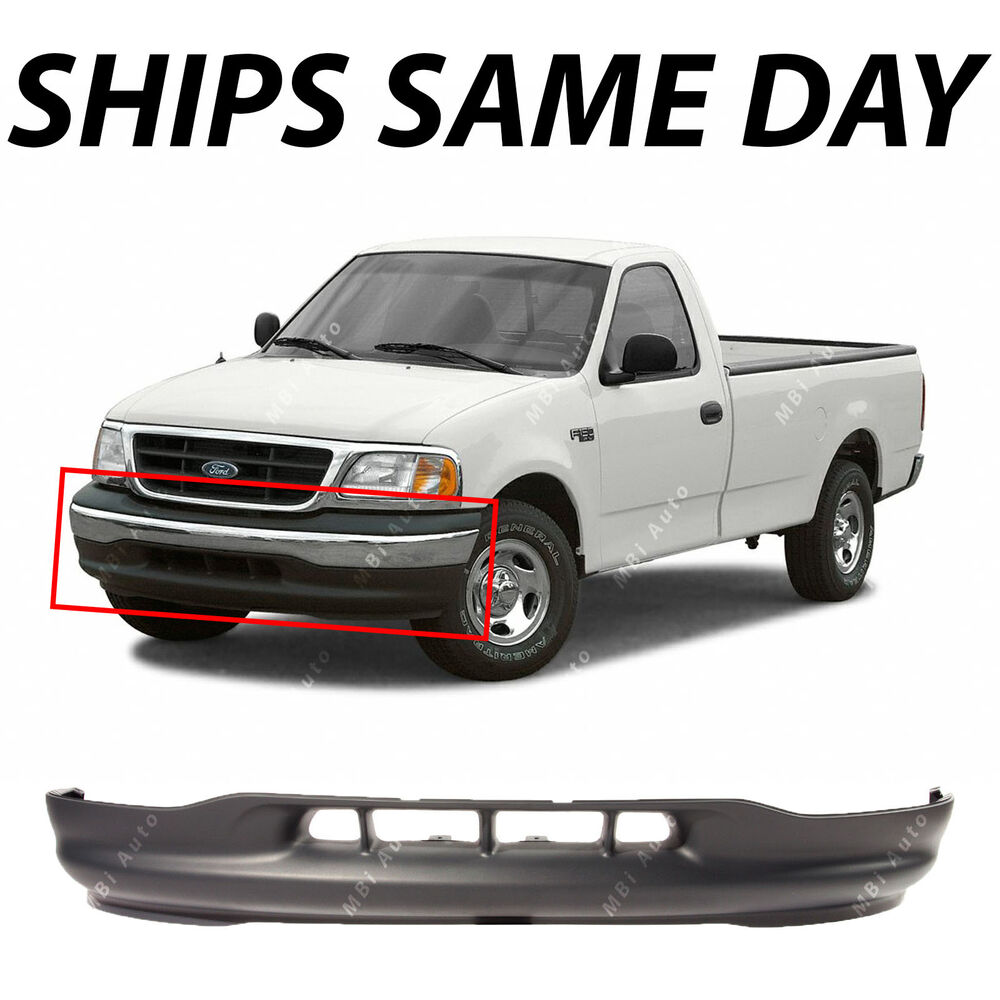 New gray front bumper lower valance apron replacement for 1999 2003 ford f150 615343322995 ebay