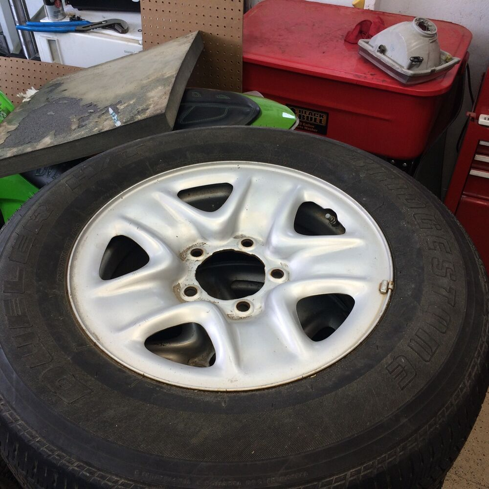Toyota tundra tires and rims ebay for Ebay motors wheels and tires