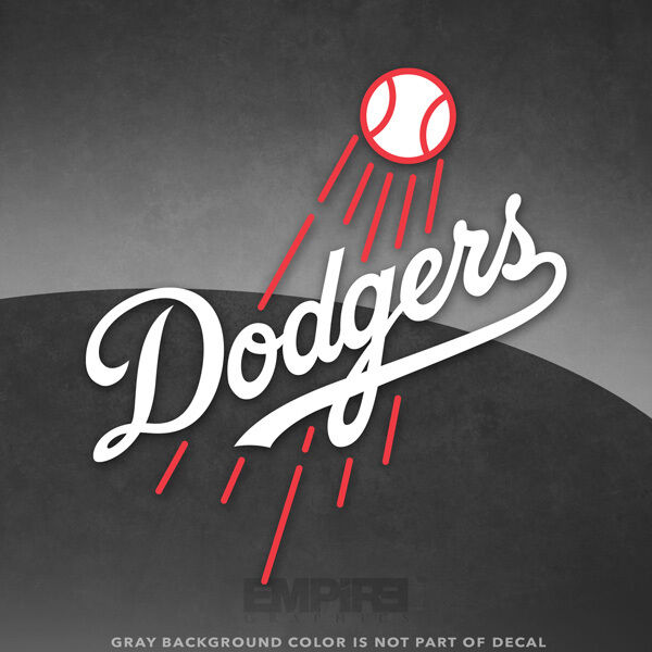 Los Angeles Dodgers Logo Vinyl Decal Sticker Mlb 4 Quot And