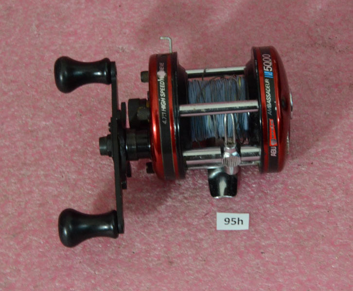 Vintage abu garcia ambassadeur 5000 fishing reel ebay for Ebay fishing reels