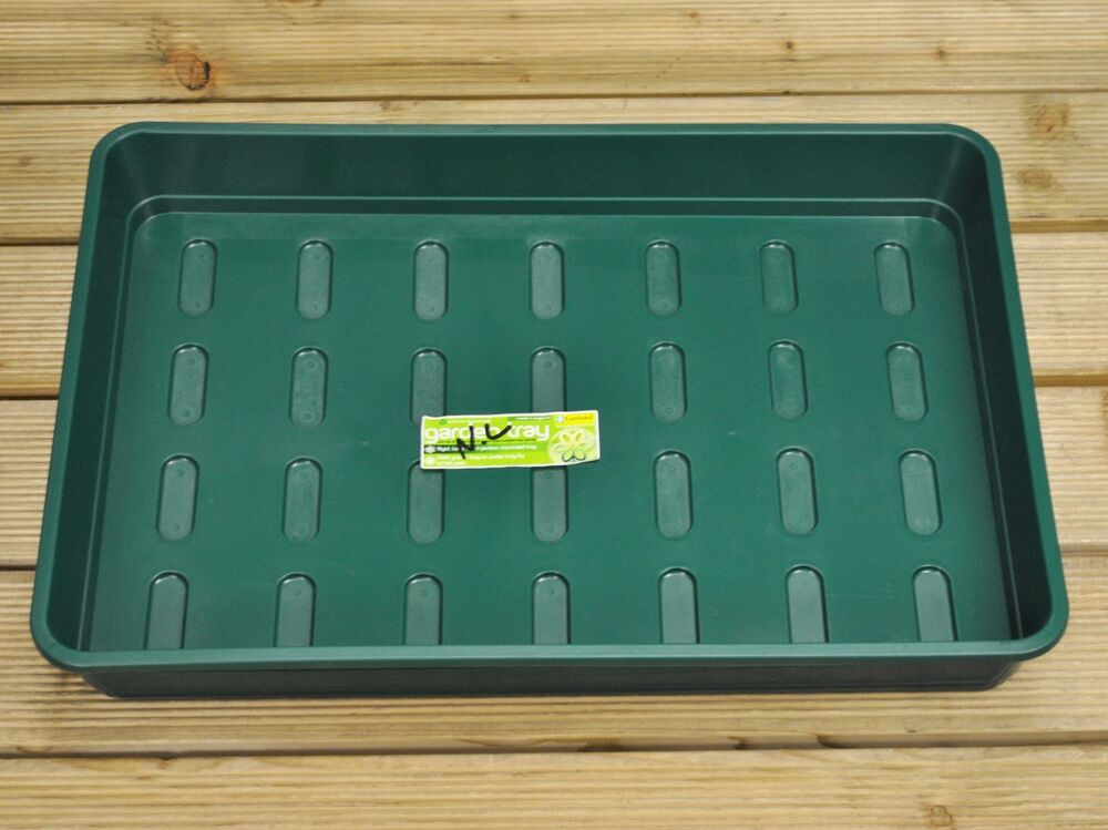 extra large plastic garden tray in green by garland ebay. Black Bedroom Furniture Sets. Home Design Ideas
