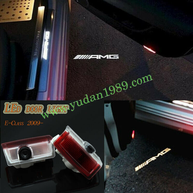 For mercedes benz w176 a class a45 amg led door courtesy for Mercedes benz door lights
