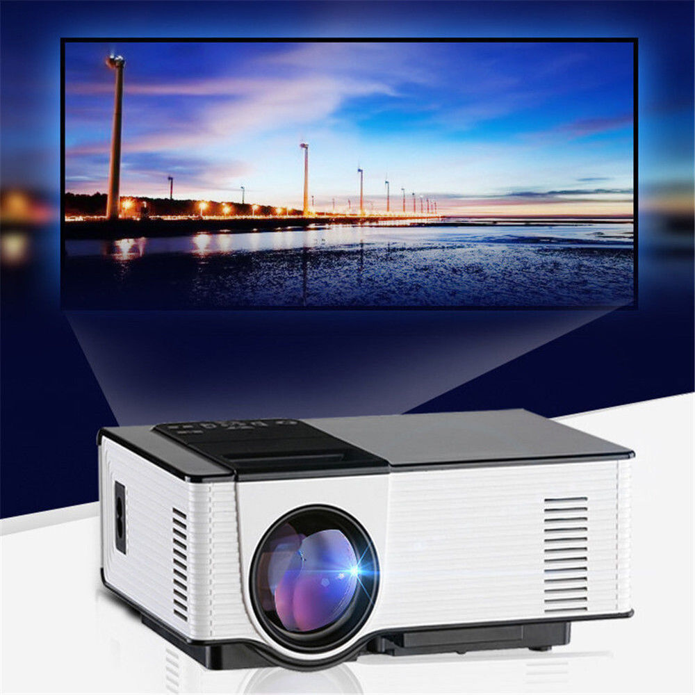 Led Lcd Projector X7 Home Cinema Theater Multimedia Led: ANDROID LED LCD HD 1080P TV HOME THEATER PROJECTOR USB
