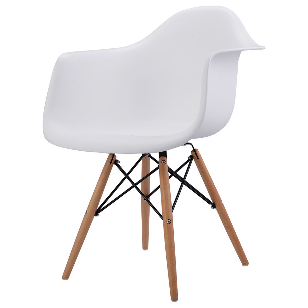 New 1pc Mid Century Modern Molded Plastic Eames Style
