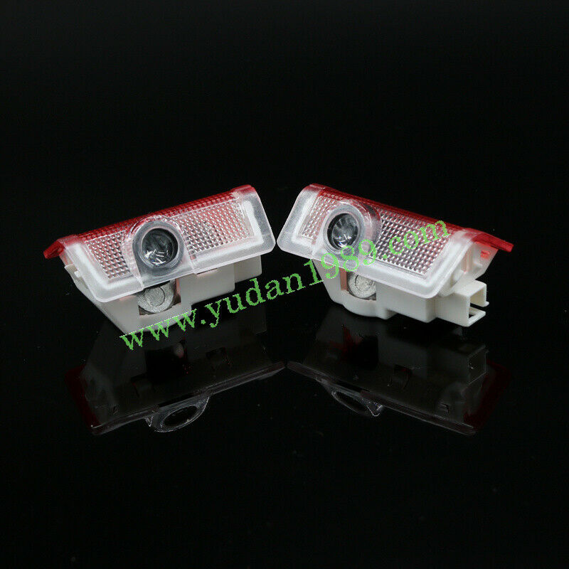2x logo led door courtesy laser light for mercedes benz e