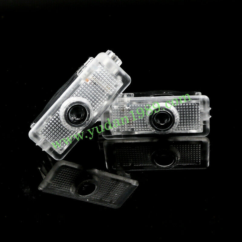 2pcs benz amg logo led laser projector door light for