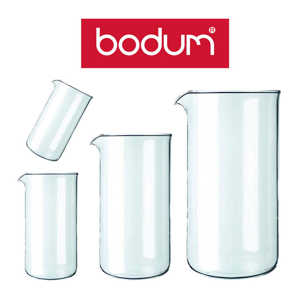Bodum Coffee Maker Replacement Glass : Bodum Spare Glass Jug for 3,4, 8, 12 Cup Coffee Tea French Press Maker eBay