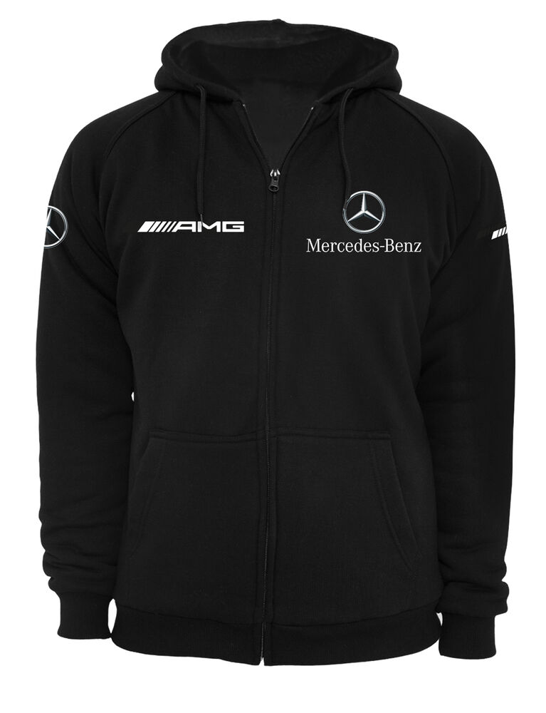 mercedes amg hoodie zipper ebay. Black Bedroom Furniture Sets. Home Design Ideas