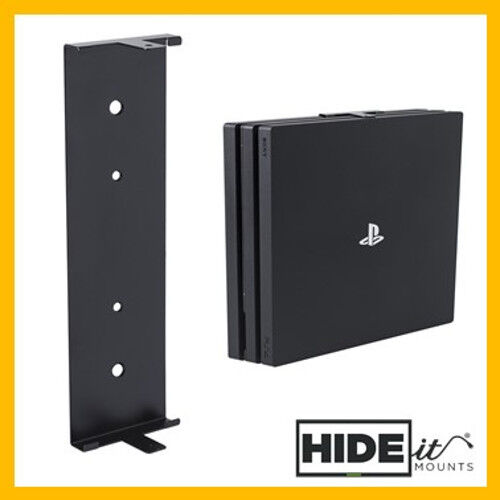 Hideit 4p Playstation 4 Ps4 Pro Vertical Wall Mount