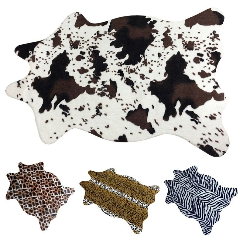 luxury area rug living room porch carpet sofa animal print f