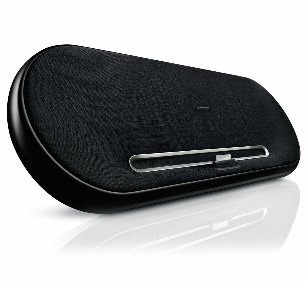 philips sbd7500 fidelio ipod dock with free 30pin to 8pin. Black Bedroom Furniture Sets. Home Design Ideas