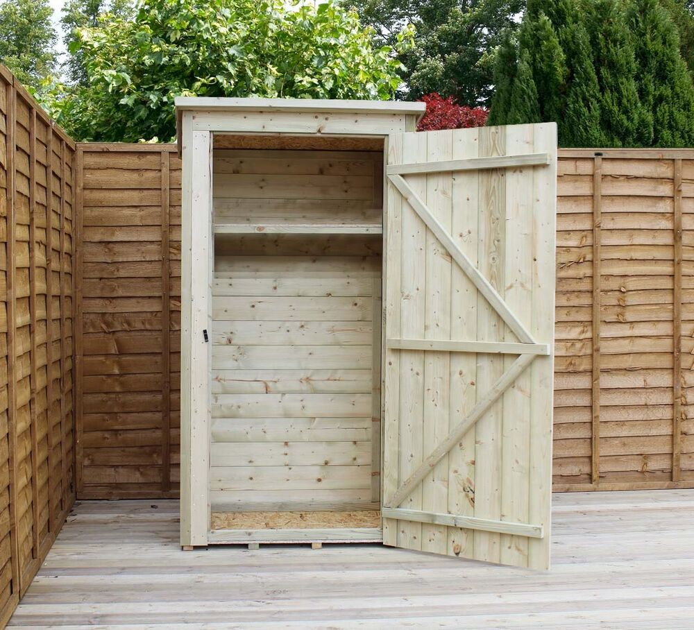 Garden shed 3x2 shiplap pent roof tanalised pressure for Garden shed tab