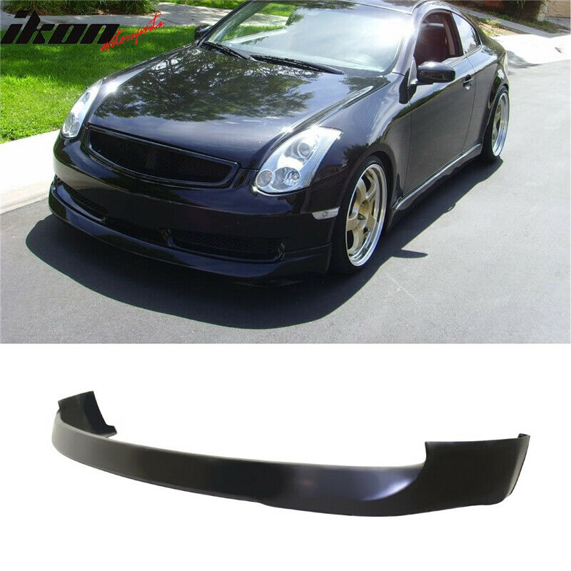 1993 Infiniti G Exterior: 03-07 Fit For Infiniti G35 Coupe 2Dr INGS Style PU Front